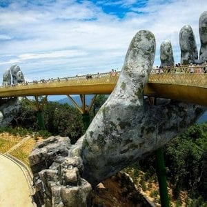 Ba Na Hills Golden Bridge Vietnam