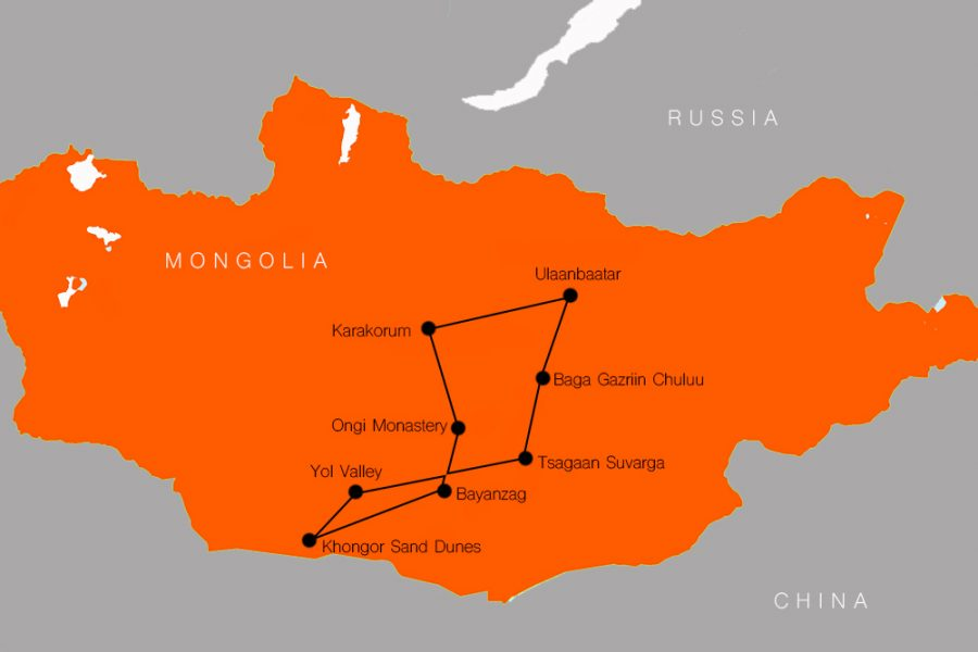 10 Day best of mongolia