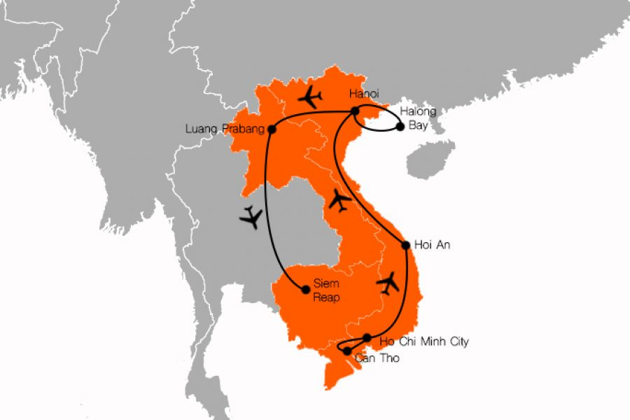 15 Day Indochina Tour MyHoliday2