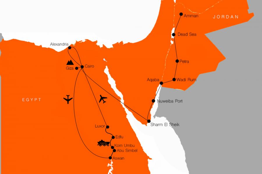 Egypt & Jordan tour MyHoliday2