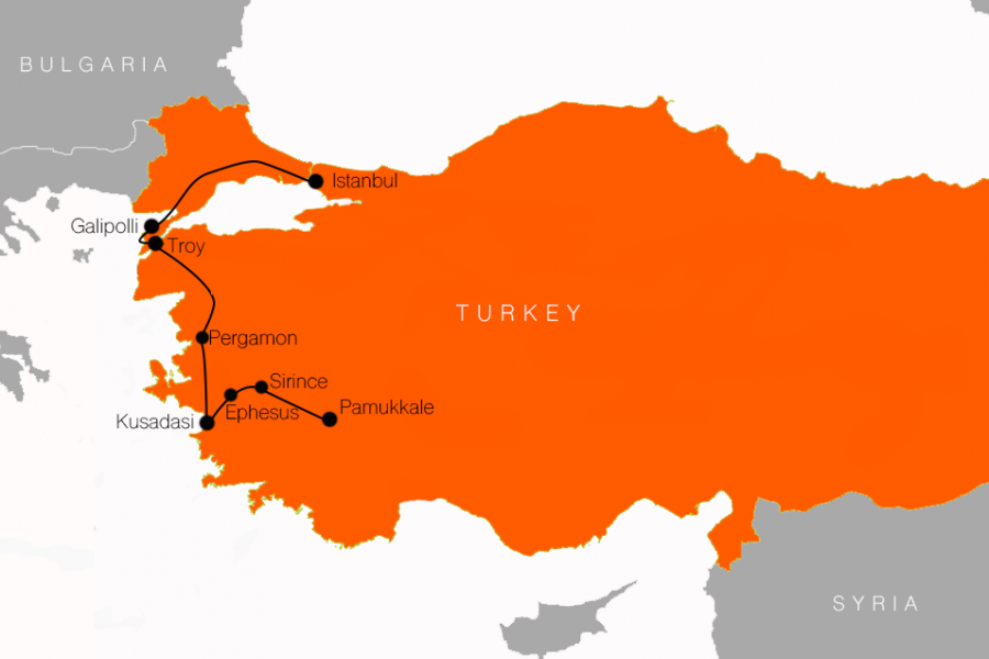 7 DAY TURKEY tour
