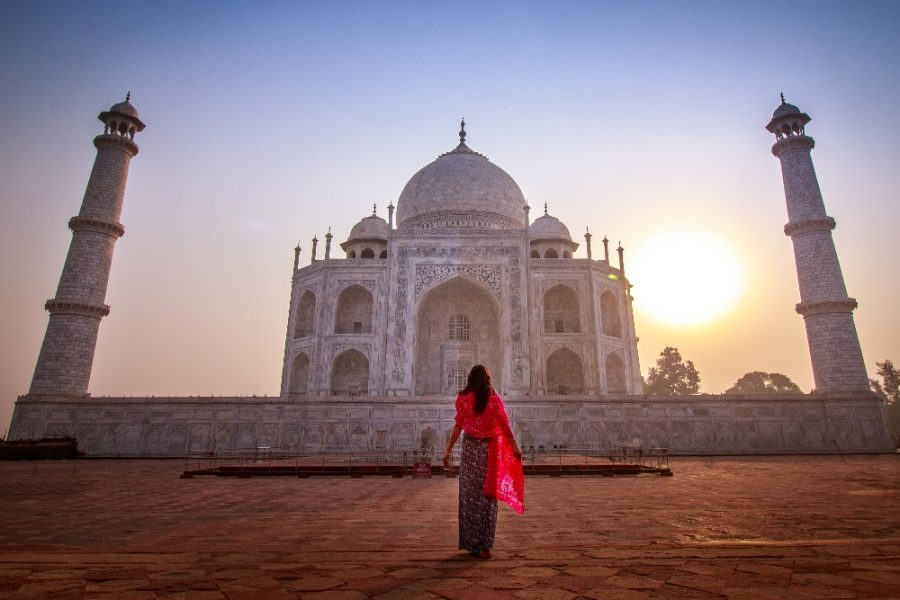Taj Mahal at Sunrise India Tour MyHoliday2