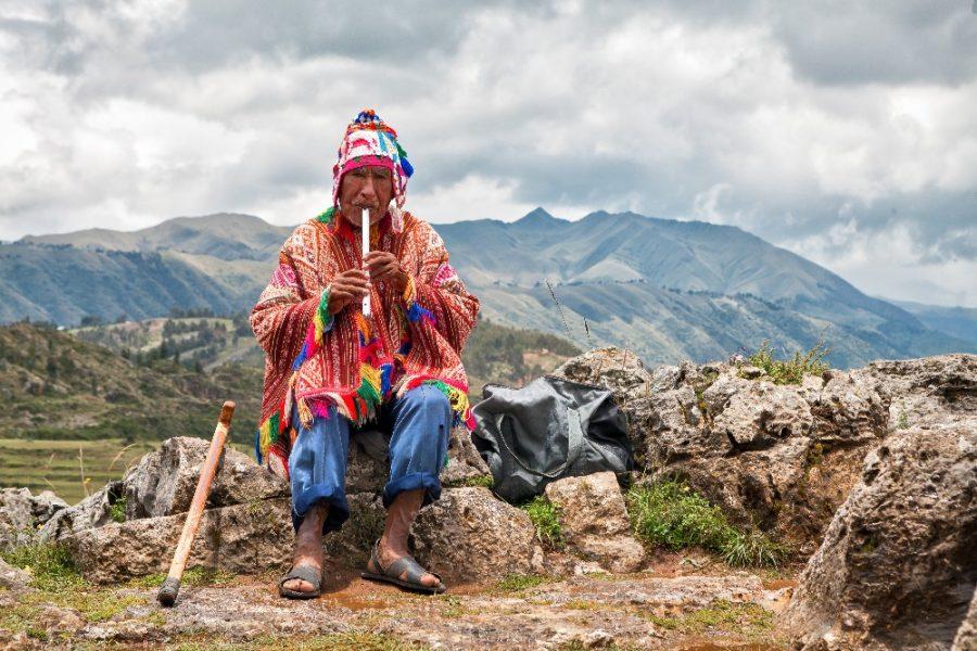 Quechua Man Peru