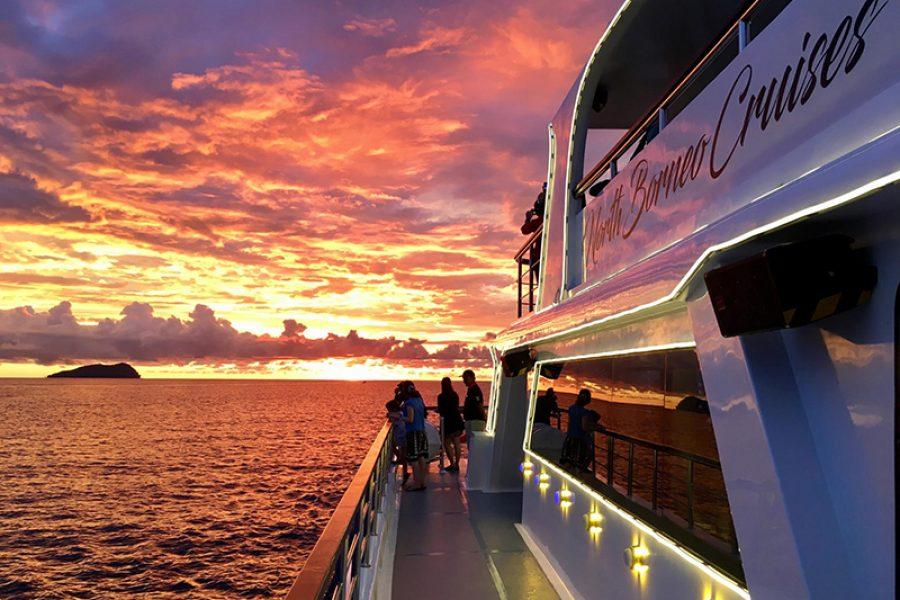 kota kinabalu stopover package | North Borneo Cruises Sunset Dinner Cruise