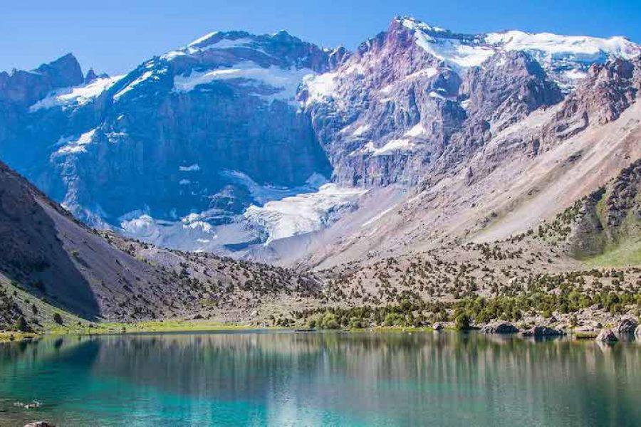 tajikistan fann mountains